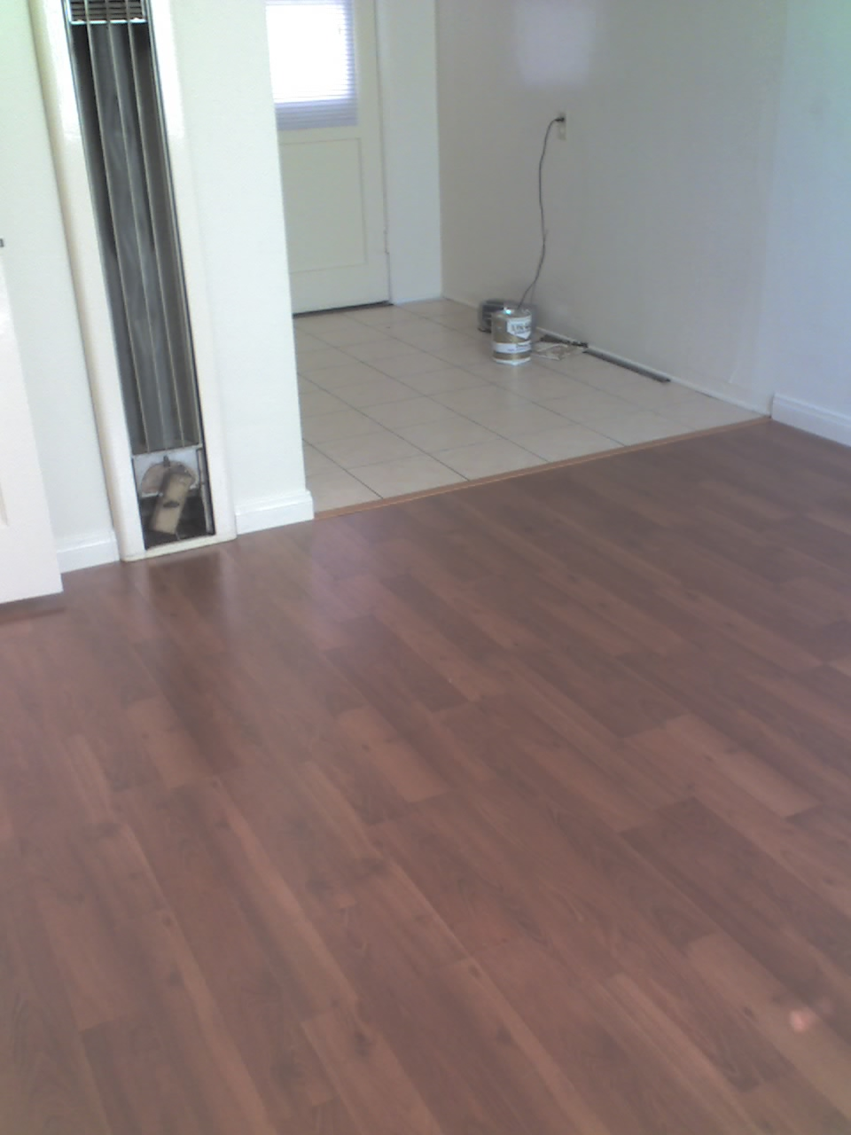 Laminate Floor Installed