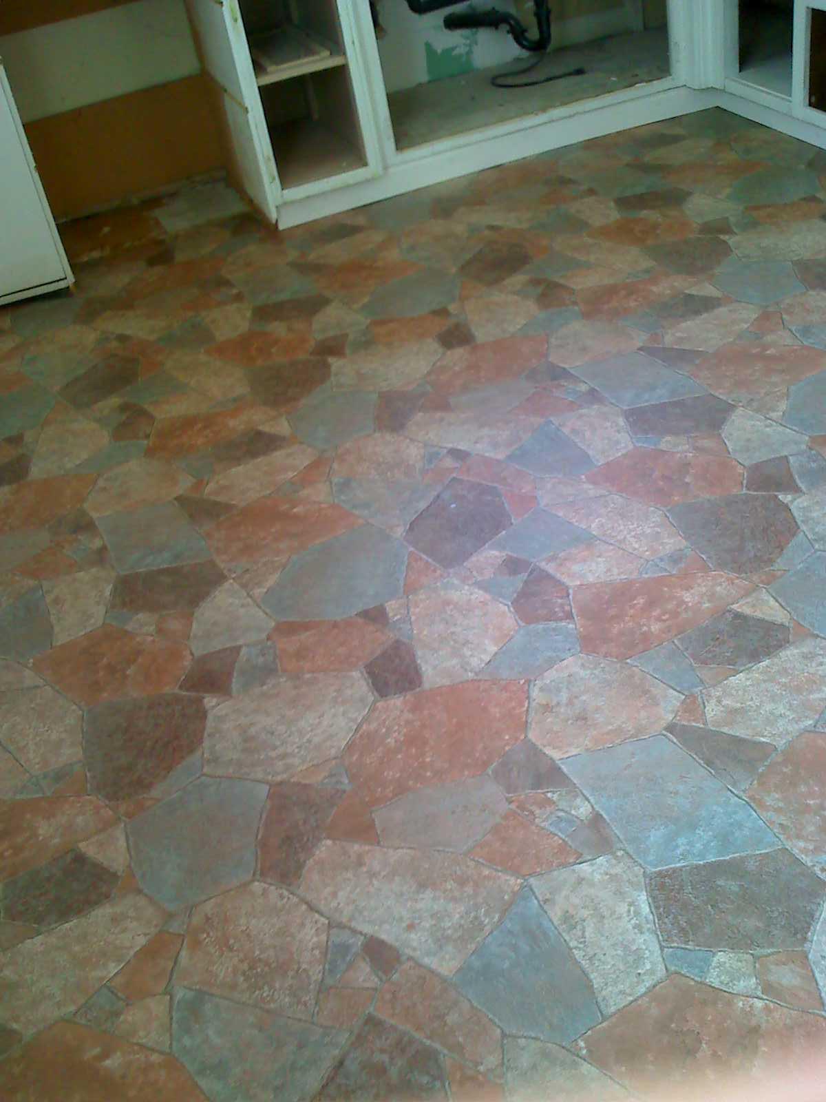 Linoleum Stone Pattern